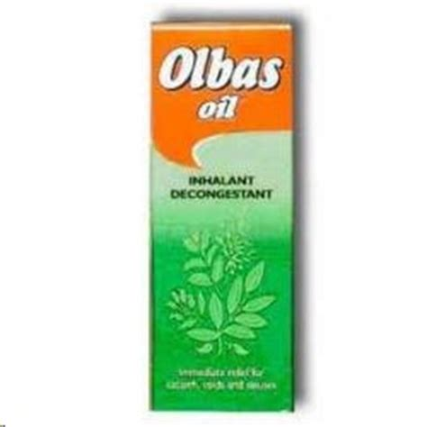 Inhalant Decongestan olbas inhalant decongestant
