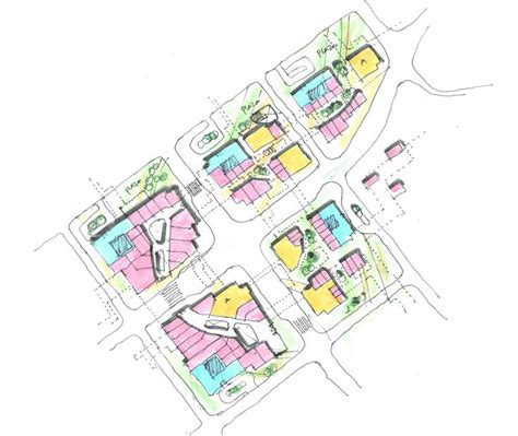 layout of flatirons mall retail plan 1 architecture sketches l randy carizo