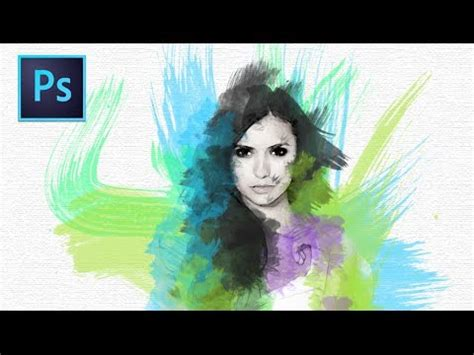 tutorial smudge painting photoshop cs5 tutorial smudge painting di photoshop doovi