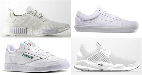 best all white sneakers the best all white shoes of 2016 kicks