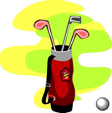 golf clip free golfbag clipart