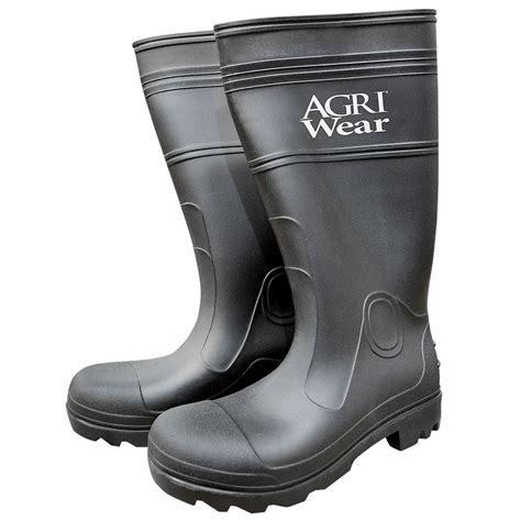 pvc boots size 10 pvc knee boots black resistant waterproof work