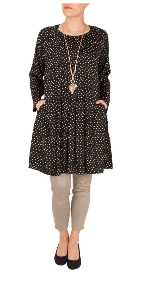 Blouse Gritta Blouse masai clothing spotted gritta tunic in 111 crerint