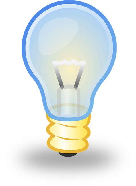 licht birne kostenlose vektorgrafik birne licht le elektro