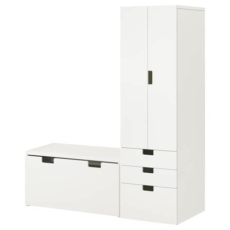 ikea white storage bench stuva storage combination with bench white white
