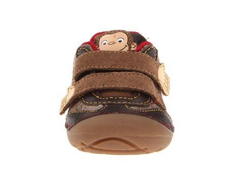 curious george slippers stride rite srt sm curious george infant toddler shipped