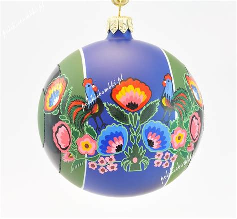 Handmade Glass Ornaments - polskie bombki na ludowo poland travel places