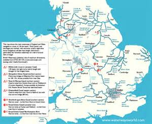 waterways map canal maps wales