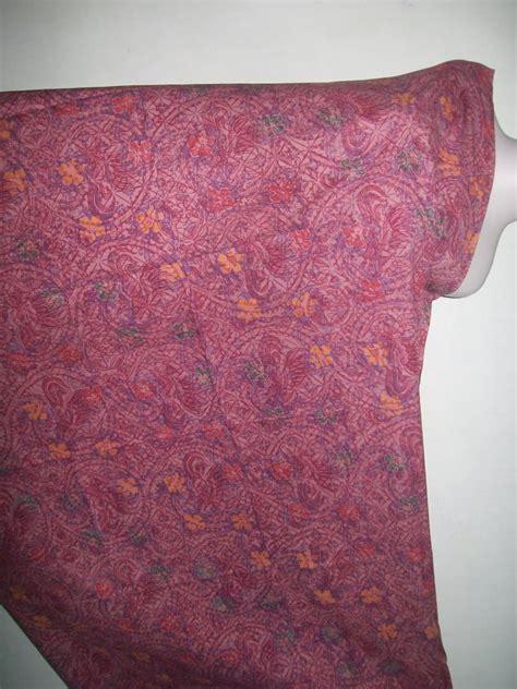 Kain Batik Murah 156 Jual Kain Batik Motif Abstrak Warna Merah Trend 2012 K156