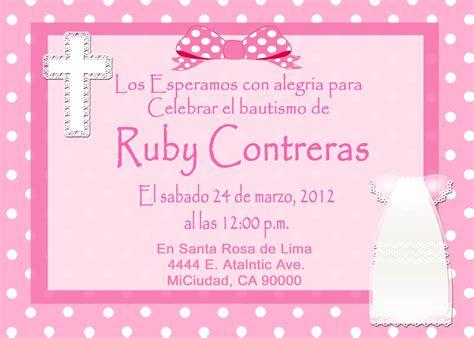 invitaciones de bautizo bautismo espanol invitacion mis 2 manos made by my hands march 2012