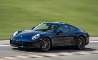 Porsche 911 Carerra 2017 Porsche 911 Test Review Car And Driver