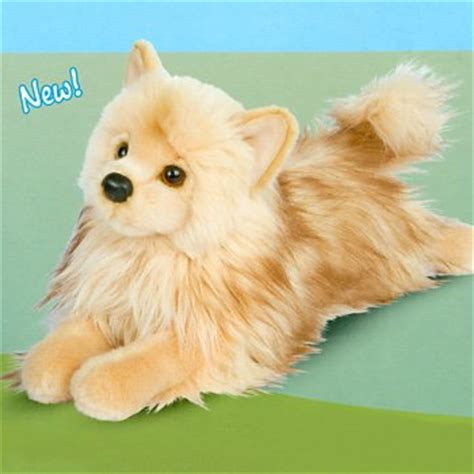 pomeranian stuffed animal plush pomeranian stuffed animal