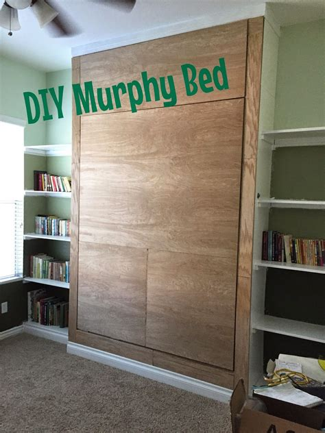 junk   trunk diy murphy bed wall bed learn