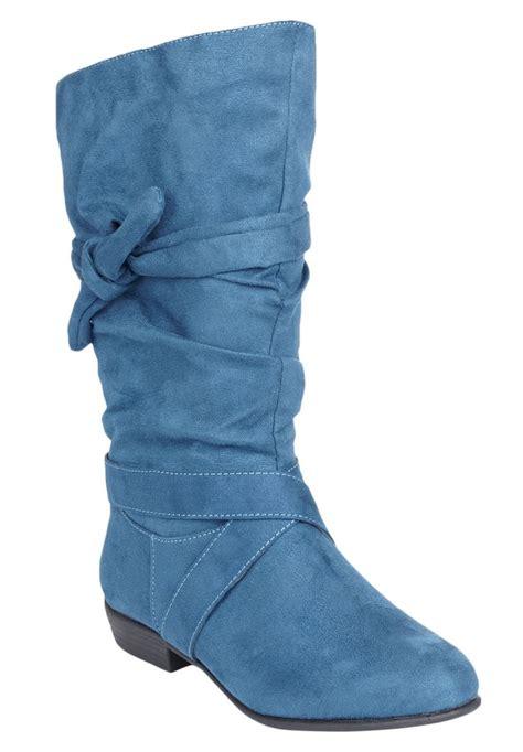 blue wide calf boots blue wide calf boots 28 images womens festival navy
