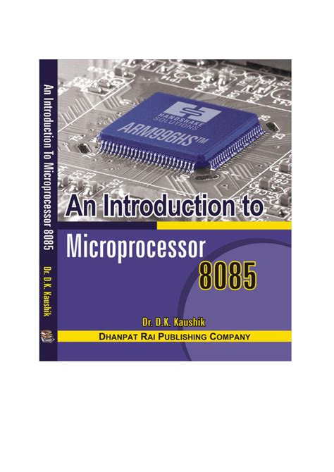 reference books microprocessor 8085 an introduction to microprocessor 8085 pdf