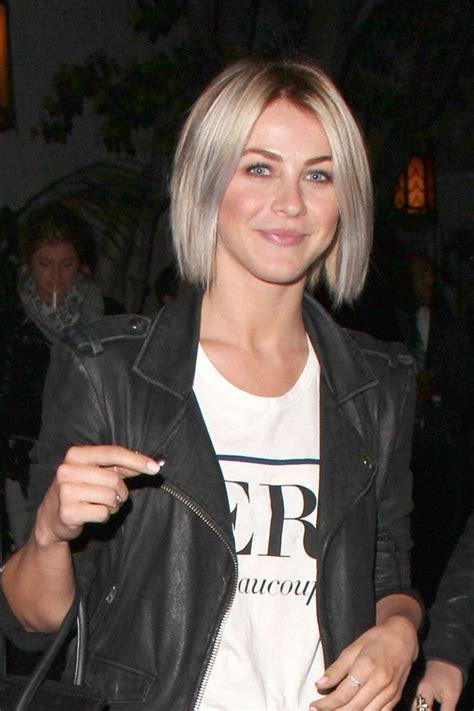 hot to style julianna hough bob julianne hough bob short hairstyles lookbook stylebistro