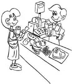 coloring pages 187 supermarket coloring pages