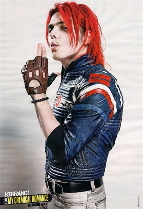 gerard way my chemical romance photo 18200218 fanpop