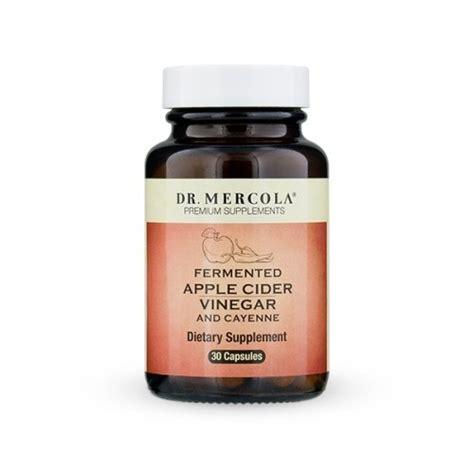 Mercola Detox by Fermented Apple Cider Vinegar Cayenne Dr Mercola 30 Caps