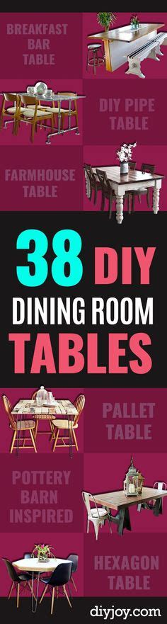 dining room table projects creative