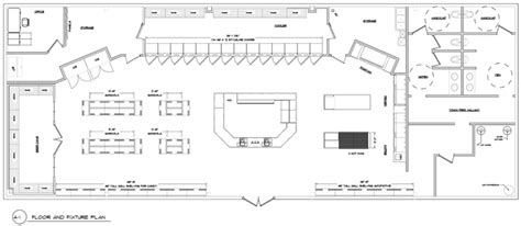 Store Floor Plan by Convenience Store Design Company Convenience Store Floor