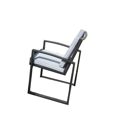 gazebo penguin 6 aluminum patio dining chairs set