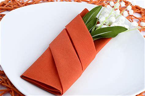 servietten falten anleitung bestecktasche etui