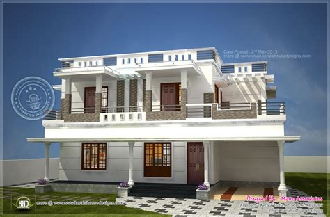 modern design home modern home design in alappuzha kerala house design plans