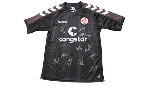 St Pauli Trikot 2015 2858 by Vom Gesamten Team Signiert Trikot Des Fc St Pauli