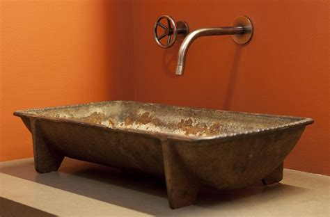 trough sinks for trough vessel sink home design