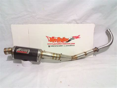 Knalpot Scorpion Fullsystem Leher Argon Untuk Motor All 150cc jual knalpot racing motor bebek cek harga di pricearea