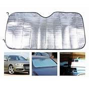 Auto Sun Shield Visor Shade Foldable Rear/Front Windshield