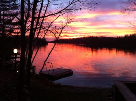 cottage country ontario sunrises and sunsets