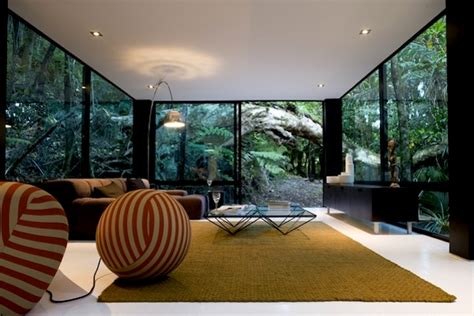 home new zealand architecture design and interiors black forest house in the hills of titirangi new zealand