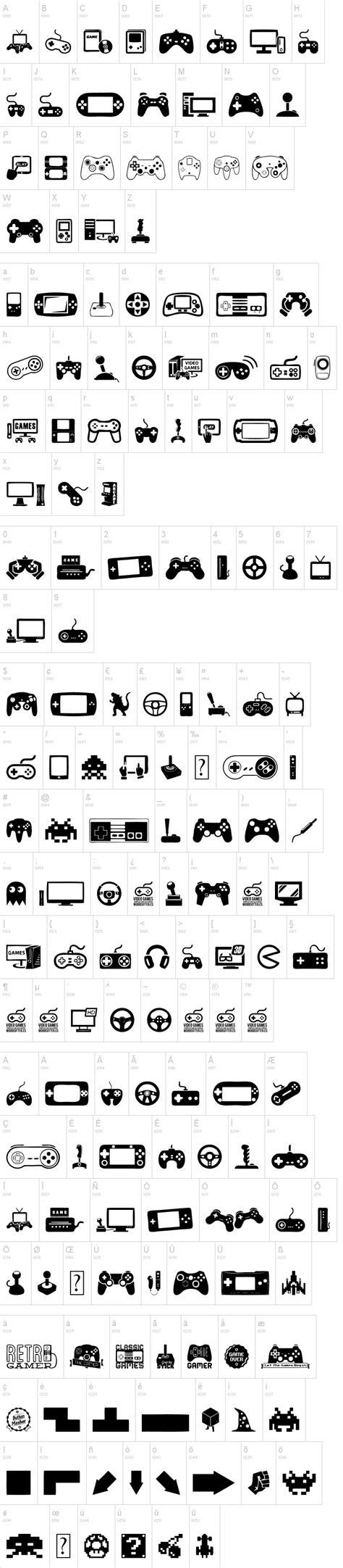 dafont vcr video games font dafont com