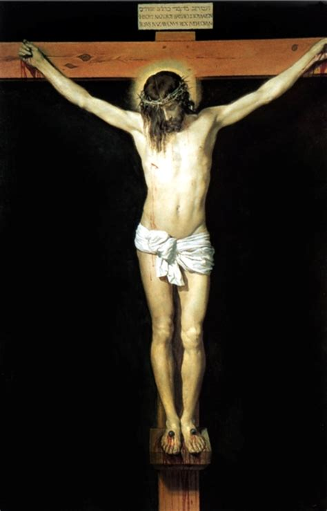 Velazquez Christ On The Cross | the necessity of the cross integrated catholic life