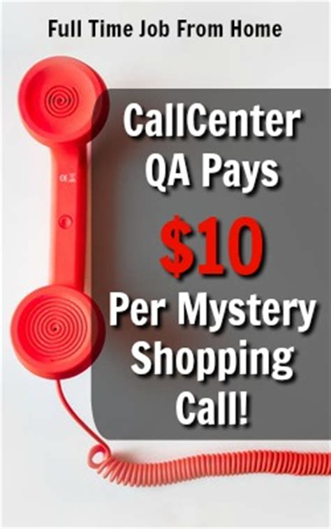 call center qa review scam free mystery shopping at