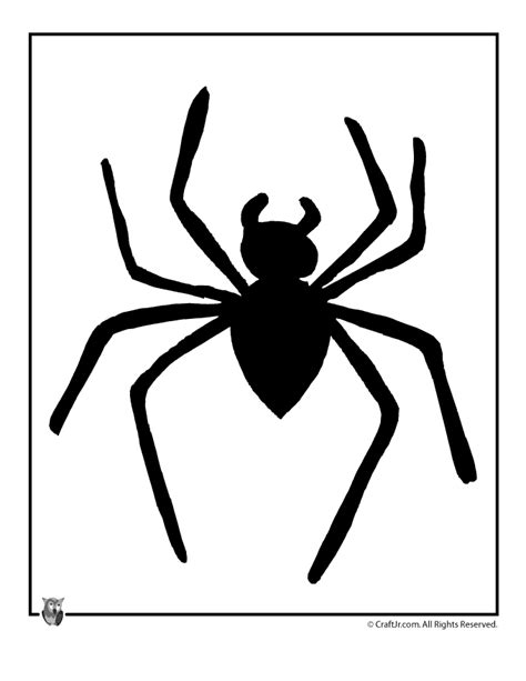 halloween spider template