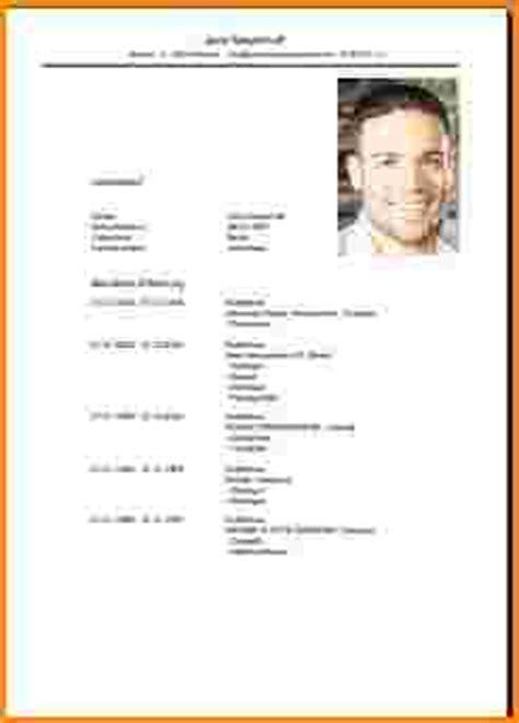 Lebenslauf Muster Bewerbung Ausbildung Bewerbung Lebenslauf Ausbildung Reimbursement Format
