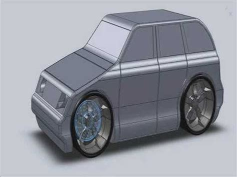 solidworks tutorial toy car building a toy car in solidworks 2010 youtube