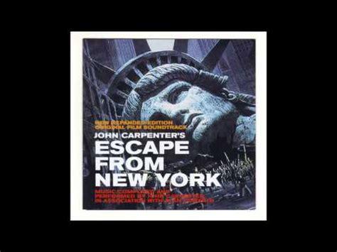 theme music escape from new york john carpenter s lost themes audionirvana org