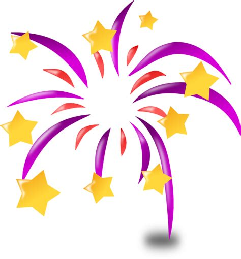 clipart animation fireworks clip at clker vector clip