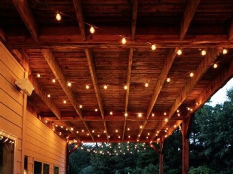 String Lights On Patio My Patio Plans This Include Snakes Killam The True Colour Expert