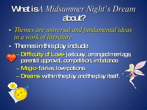 love themes in a midsummer night s dream a midsummer night s dream