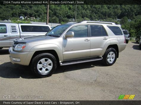 2004 Toyota 4runner Limited Dorado Gold Pearl 2004 Toyota 4runner Limited 4x4
