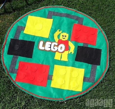 Lego Mat Tutorial by Felt Lego Mat Bag Sew