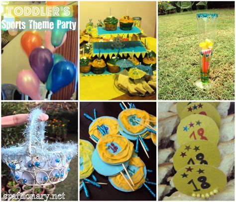party themes toddler craftionary