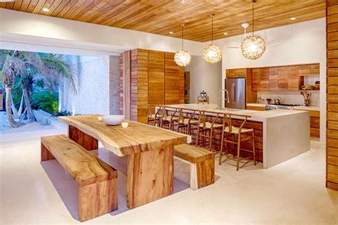 casa xixim combine materials with view