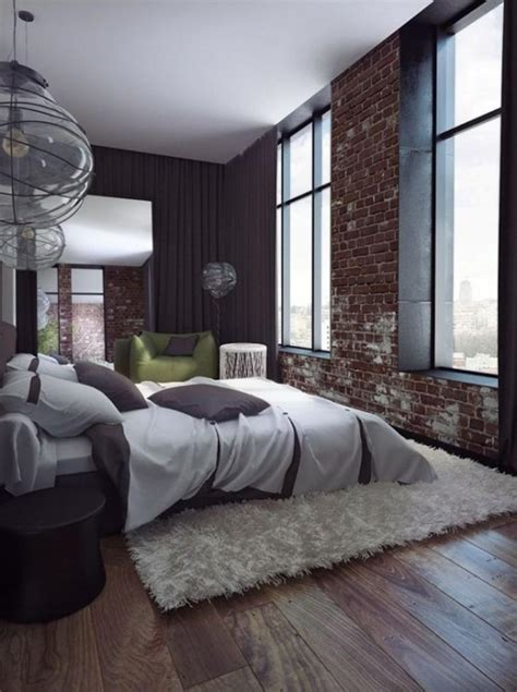 modern brick wall 20 modern bedroom designs with exposed brick walls rilane