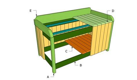 Patio Storage Box Plans by Outdoor Storage Box Plans Myoutdoorplans Free